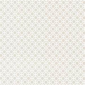 Beatrix Gray Modern Geometric Wallpaper