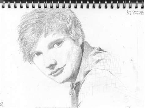 Ed Sheeran Kleurplaat by Mr Ed Sheeran Jxn Artista