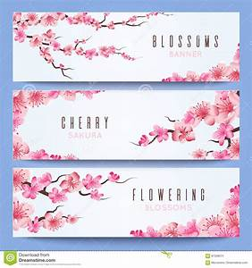 wedding banners template with spring japan sakura cherry With wedding invitation templates japanese