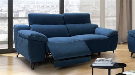 canapé relax 3 places tissu canapé de relaxation électrique design 3 places faro