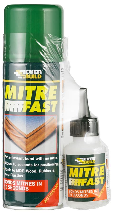 Mitre Fast Bonding Kit   Everbuild