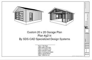 Free 10x20 Shed Plans Pdf by 20 X 20 Garage Plans Free Storage Shed Design Pictures