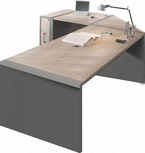 Bureau D Angle Professionnel : bureau bureau d 39 angle avec caisson moderne comforium ~ Teatrodelosmanantiales.com Idées de Décoration