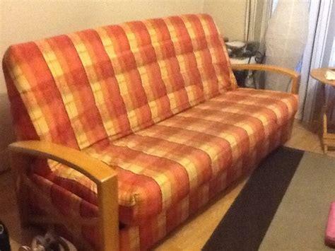 housse de canap avec accoudoir en bois clic clac avec accoudoir maison design wiblia com