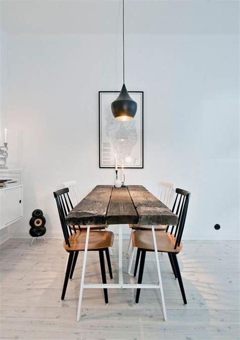 Cuisine é Uipé Avec Table Inté Ré Décorez Vos Intérieurs Avec Une Table Rustique