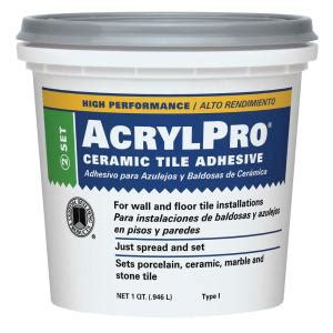 custom building products acrylpro 1 qt ceramic tile