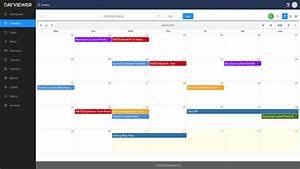 Dayviewer Online Calendar  Planner  U0026 Organizer