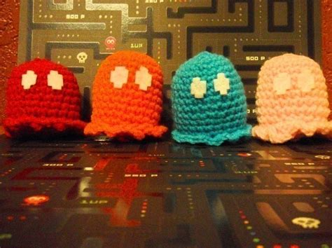 Pac Man Ghost · How To Make A Food Plushie · Crochet, Yarn
