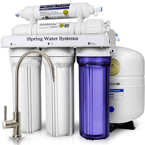 water filtration ispring wqa gold seal 5 stage with superior quality filter