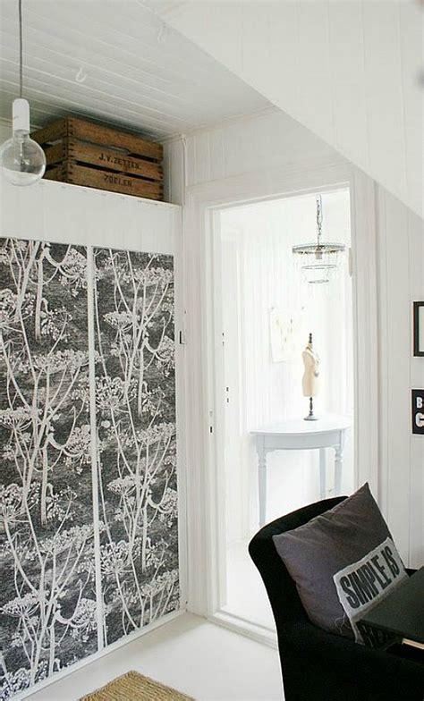 armarios decorados  papel pintado