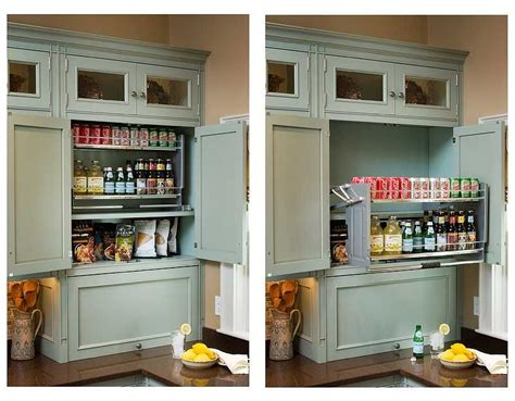 Kitchen Cupboard Pull Out Shelves by Handy Pull Shelving Is Easily Grasped And Brought