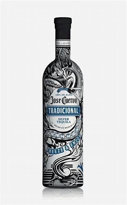 Jose Cuervo Bottle Tequila Bottles Grito Colores