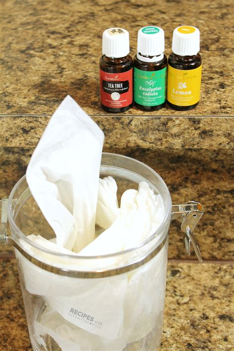 Diy Kitchen Cleaning Wipes  Recipes With Essential Oils