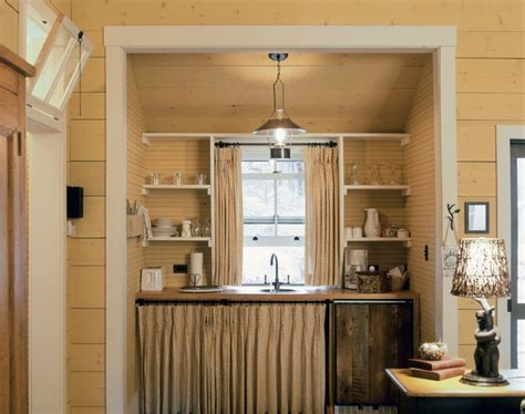 Balsam Mountain Cabins   Rustic   Kitchen   other metro