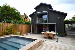 Piscine Avec Terrasse Bois : loft avec piscine sur une terrasse en bois ~ Nature-et-papiers.com Idées de Décoration