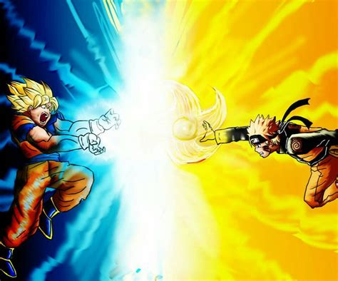 8 Best Goku Vs Naruto Images On Pinterest