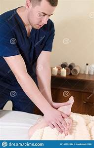 A Professional Massage Therapist Male Manual Massages And