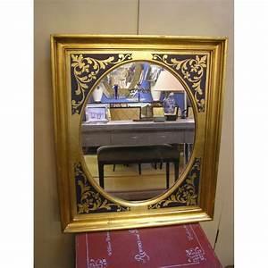 Miroir Cadre Bois : miroir avec cadre en bois moinat sa antiquit s d coration ~ Teatrodelosmanantiales.com Idées de Décoration