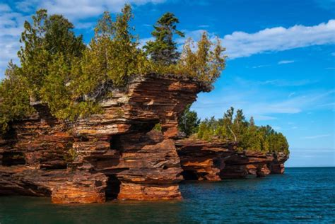 apostle islands sea caves  wisconsin  perfect