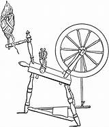 Spinning Wheel Clipart Diagram Flax Cliparts Clip Coloring Etc Pages Maleficent Spinwheel Usf Edu 1906 Beard Medium sketch template