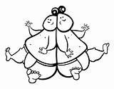 Sumo Wrestler Template Coloring Wrestlers sketch template