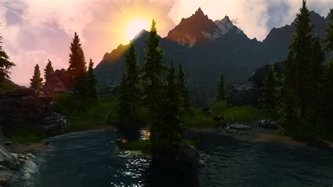 Skyrim Animated Wallpaper - skyrim moving wallpaper wallpapersafari