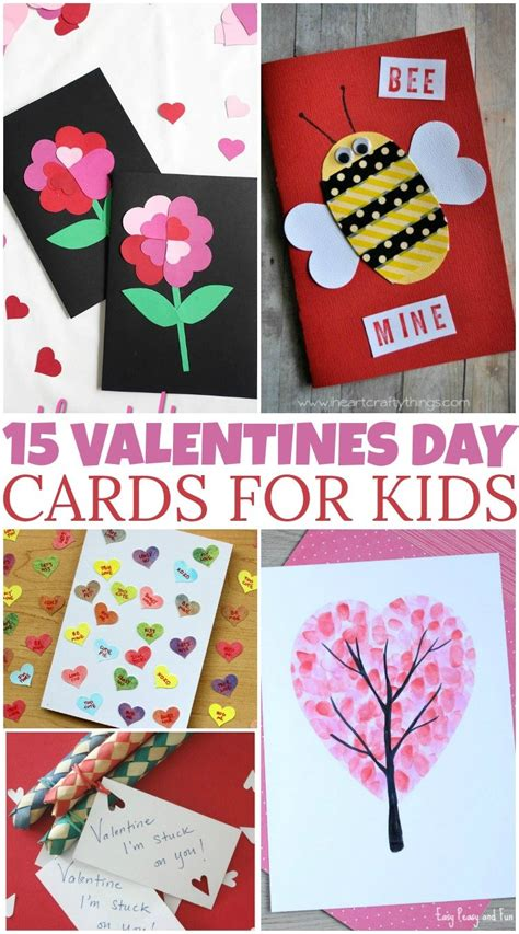 Need the perfect card to go with the amazing valentine's day gift you picked out for him or her? 15 DIY Valentine's Day Cards For Kids - British Columbia Mom