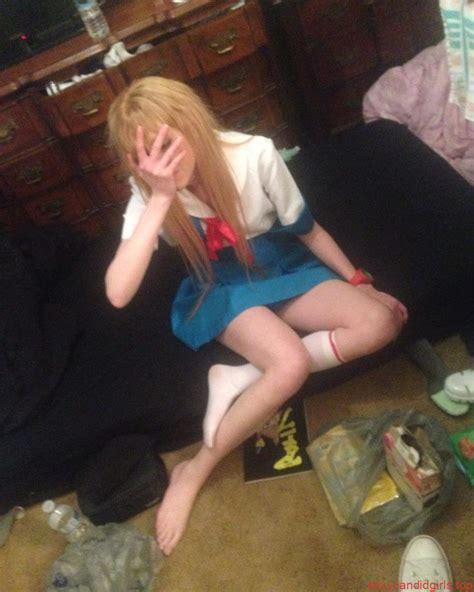 Skinny Teen School Uniform