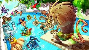 Pool Party Twitch Wallpaper HD