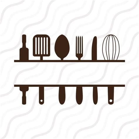 split kitchen svg kitchen svg kitchen monogram svg cut table