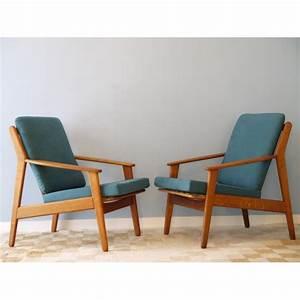 Fauteuil Vintage Scandinave : fauteuils design scandinave vintage bois la maison retro ~ Dode.kayakingforconservation.com Idées de Décoration