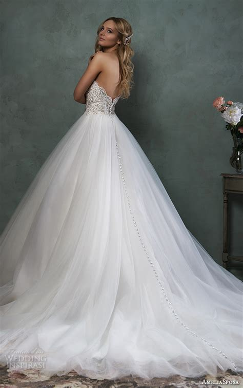Amelia Sposa 2016 Wedding Dresses  Wedding Inspirasi. Casual Wedding Dresses For Pregnant. Empire Gown Wedding Dresses. Designer Wedding Dresses Perth. Latest Winter Wedding Dresses. Wedding Dresses 2016 Facebook. Princess Wedding Dress Tulle. Fit And Flare Wedding Dresses Canada. Vintage Wedding Dresses Harrogate