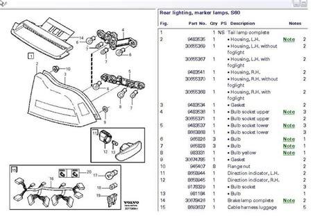 2004 volvo v70 light wiring diagram 40 wiring