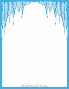 Winter Border Clipart Free - ClipartXtras