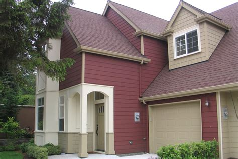 Exterior House Color Ideas With Brick Best Medium Image