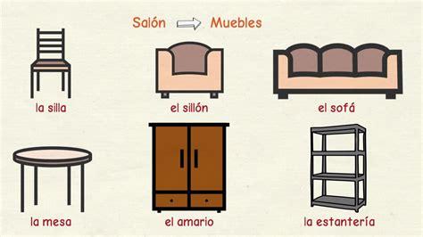 aprender espanol muebles  otros objetos de la casa