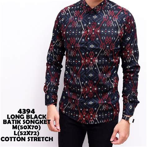jual beli kemeja pria batik songket baru baju kemeja pria koleksi terbaru