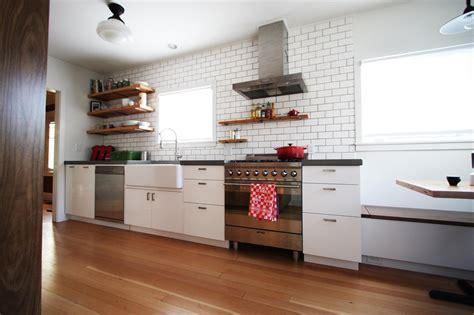 retail kitchen cabinets kitchen remodel of irvington bungalow a mod trad fusion 1924