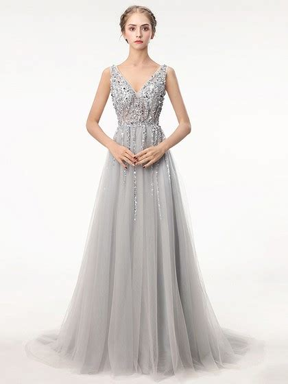 Silver Prom Dresses UK, Shop Prom Dresses in Charcoal Grey ...