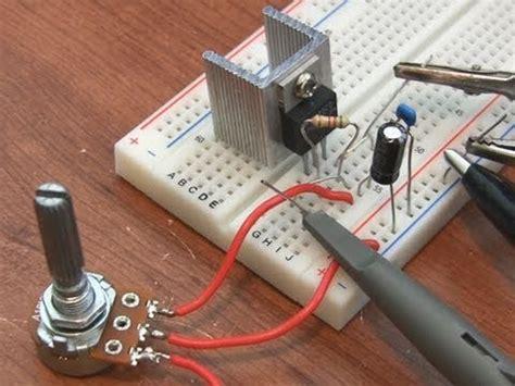 Adjustable Voltage Regulator Tutorial Youtube