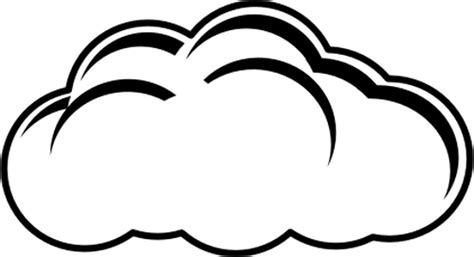 cloud clipart black and white cloud black and white white cloud clipart wikiclipart
