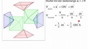 Volumen Kegel Berechnen : volumen von pyramide und kegel 9 klasse youtube ~ Themetempest.com Abrechnung