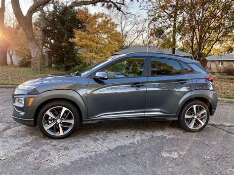 It's one of the shortest in overall length, and that's reflected in particularly tight rear legroom. 2021 Hyundai Kona Limited AWD Review   CarProUSA