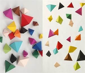 Origami Maison En Papier : diy bricolage origami facile artistique pliage papier ~ Zukunftsfamilie.com Idées de Décoration