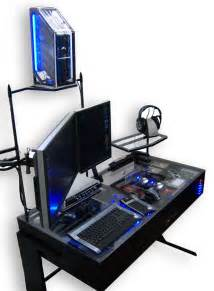 Best Test Bench Case by Awesome Desk Pc Setup Cools Hard Disk Array Separately