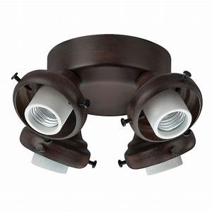 Ceiling lighting deafening hunter fan light kit