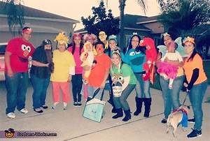 Sesame Street Family Halloween Costumes