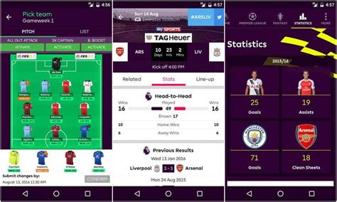 5 of the best android apps for premier league fans make tech easier