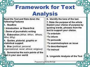 how to write a text analysis response essay