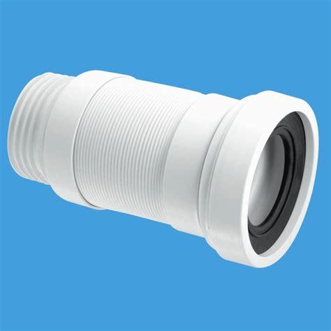 mcalpine  outlet long flexible toilet pan connector